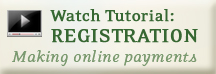 Video Tutorial: Registration, Making online payments